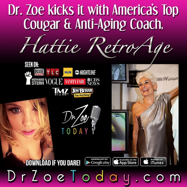 Hattie RetroAge on Dr. Zoe Today
